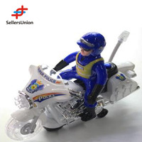 No.1 yiwu commission agent remote control electric toy car motors Plastic electronic motorcycle toy with light 23*12*9CM