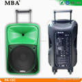 Trolley active speaker with bluetooth
