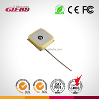 Free sample-18*18 gps antenna /tracker antenna with IPEX