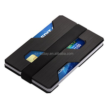 Card Holder Manufacturer Wholesale on Amazon Hot selling Aluminum Credit Card Holder Money Clip