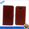 PU leather case for Samsung Galaxy S4 wallet cover case