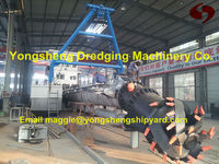 cutter suction dredging machinery