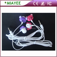 Factory Directly Customised Cartoon Earbuds Promotional Earphone for Children