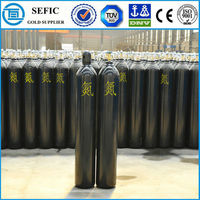 high quality Nitrogen cylinder steel high-purity nitrogen gas steel container high pressure air tank N2 pneumatic cylinder