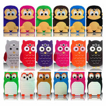 3D Cute Silicone Soft Rubber Phone Case for Galaxy S3 i9300