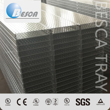 China Manufacturer Factory Perforated Cable Tray Price List Metal Material