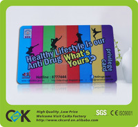 standard credit card size novelty id card with factory price