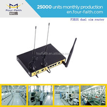 F3B32 Outdoor wifi hotspot dual sim card lte router