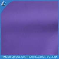 Free sample Waterproof synthetic Leather for Raincoat with sleeves