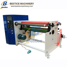 Automatic BOPP/Masking/Double side/Foam Tapes Log Roll Rewinder Slitter Machine