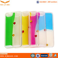 Wholesale customized IML mobile phone plastic case silicone case