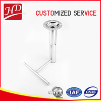 Wholesale metal furniture leg for bar stool