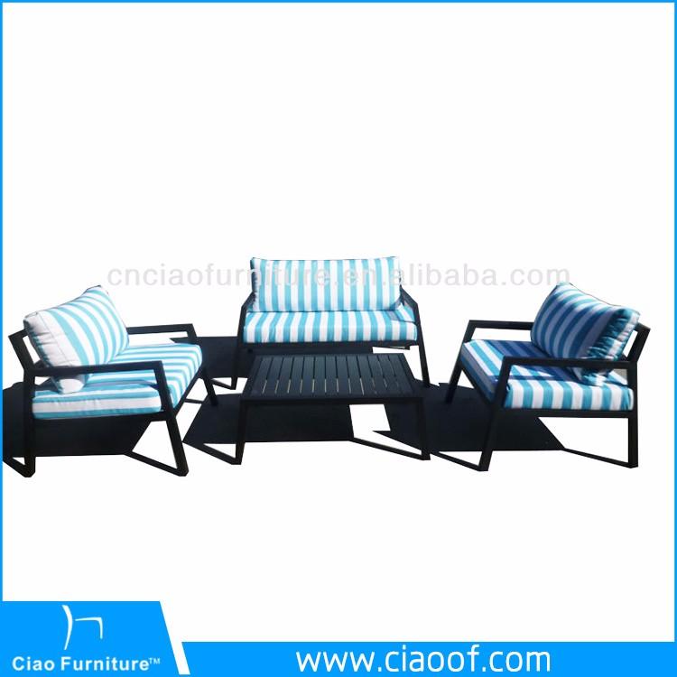 Moderna sala de estar sof dubai sof muebles de exterior for Sofa exterior casero