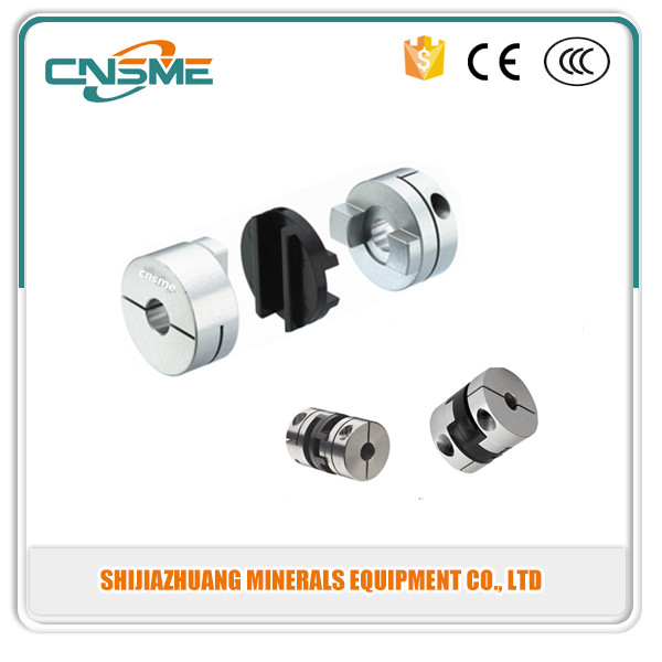 Aluminum metal tapered spline drive shaft coupling, quick release electric motor gear shaft coupling