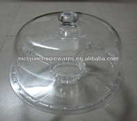 As seen on TV Acrylic cake stand with lid wholesale FDA standard for wedding use