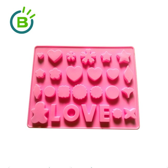 Wholesale Custom All Shapes Funny Silicone Chocolate bar Mould