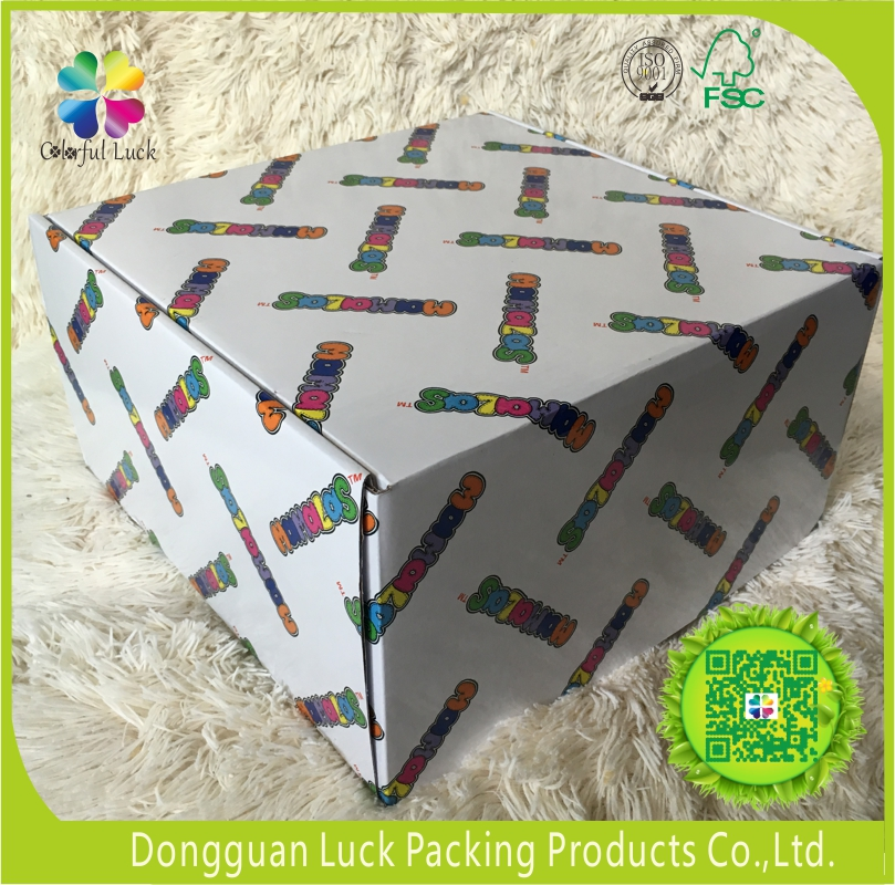 Cheap Custom Colorful Printed Matt Lamination Recycled Corrugated Paper Packaging Gift Boxes for Mailing,Post,Shipping