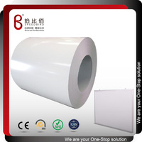 Precoated metal steel magnetic white marker board sheets
