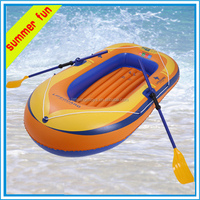 Wholesale PVC Boat Aqua Equipment Double Cheap Inflatable Rowing boat