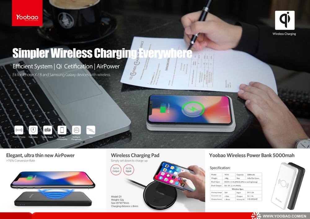 New Slim Wireless Charger for Most QI Standard Mobile Phone