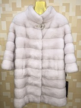 Winter High Quality Women Real Natural Mink Fur Coat