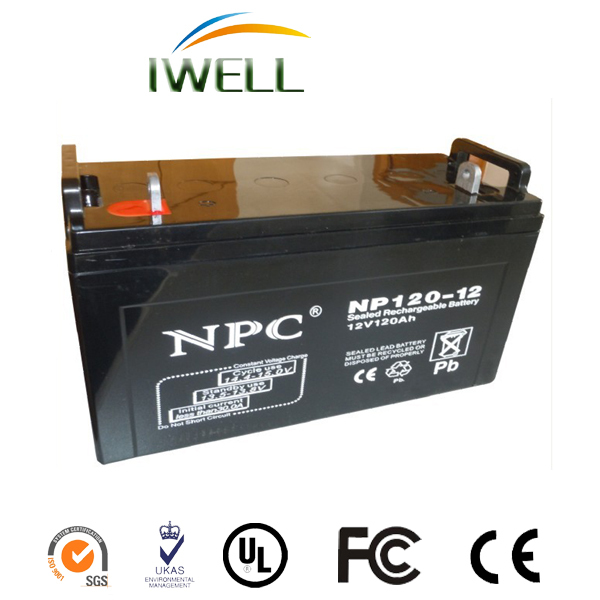 Deep Cycle Battery 12V 120AH GEL lead acid rechargeable Battery