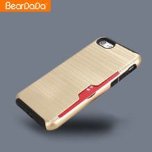 Newest Design 2 in 1 brush case for phone for iphone 7