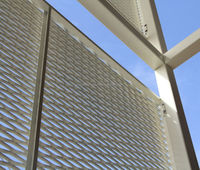 SEPA EXPANDED METAL FACADE APPLICATIONS