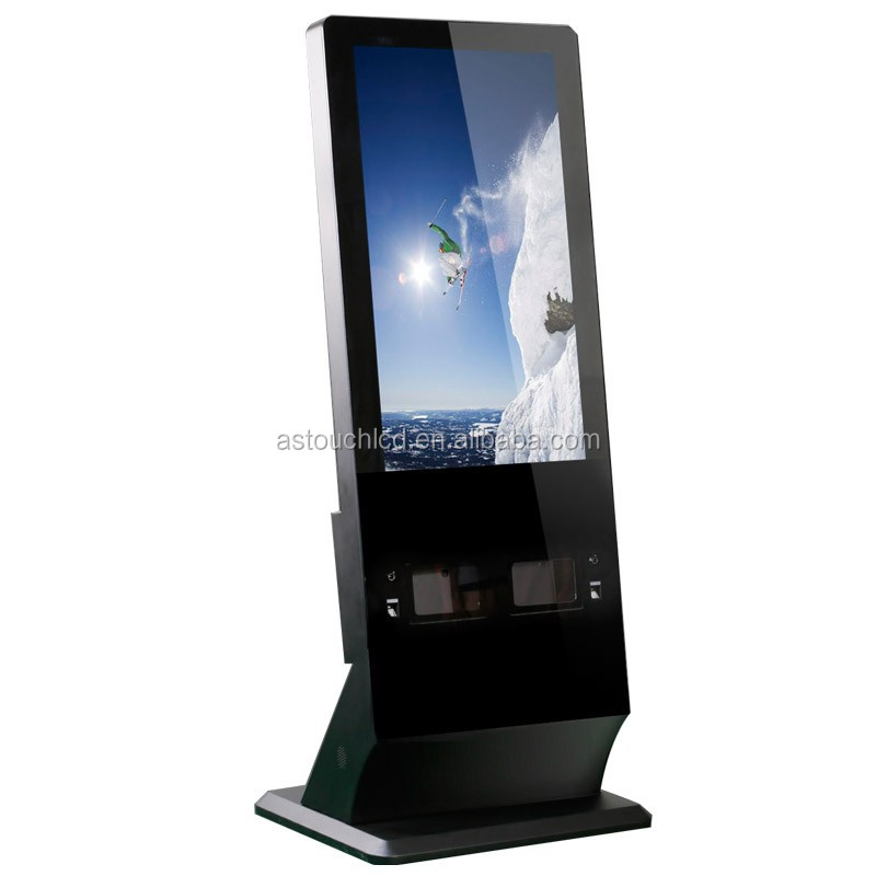 42 inch Fingerprint Lock touch screen all in one computer advertising display