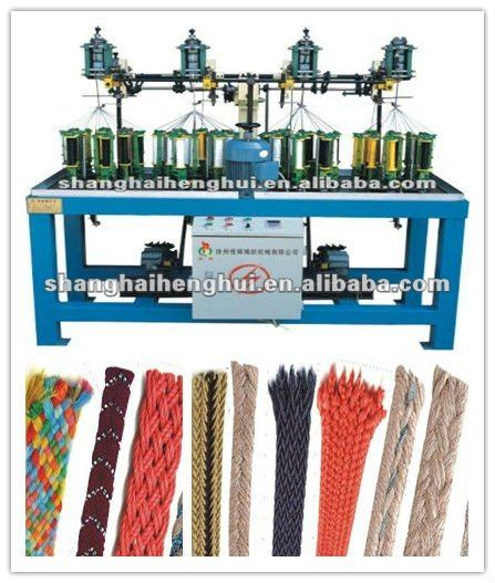 flat belt braiding machine