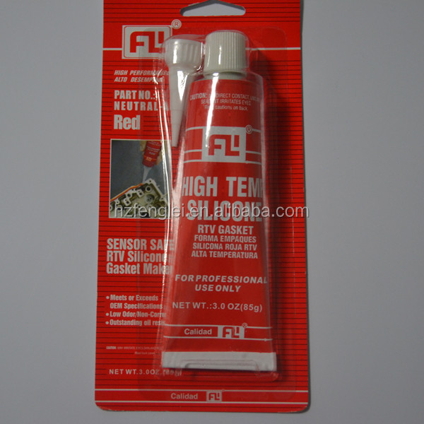 Industrial grade RTV siliocne sealant /free of gasket
