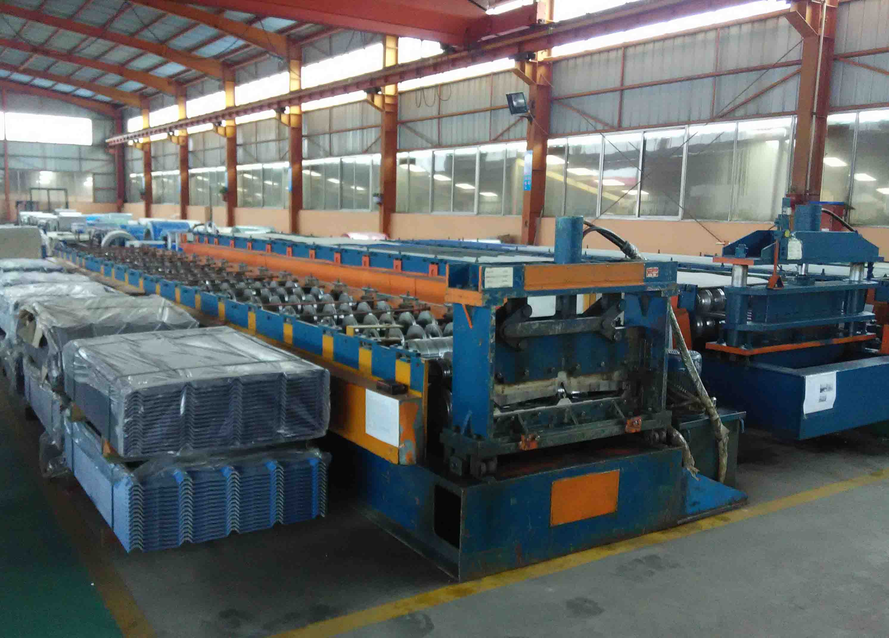 Forming-Corrugated Steel Sheet