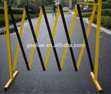 high quality galvanized metal pipe road block barricades customized metal barricade (exporter/manufacturer/factory)