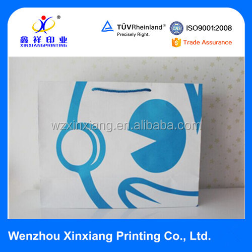 China Manufacturer Custom Printed Luxury Paper Shopping Bag Goodie Bag