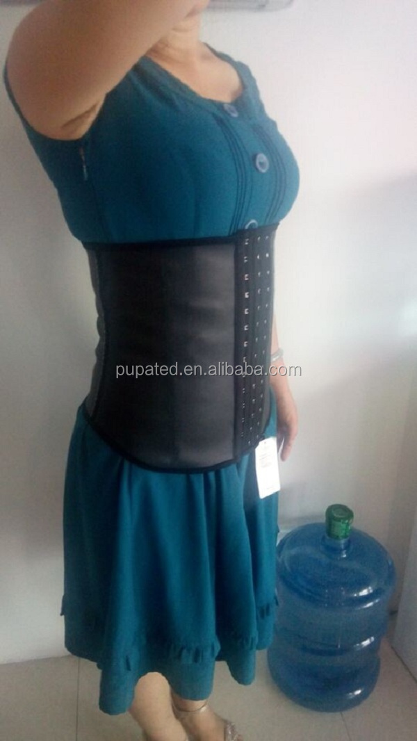 latex waist cincher in girdles and body shapers