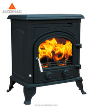 Classic cast iron wood burning stove/wood heater