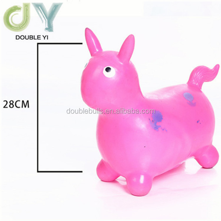 Wholesale inflatable horse toy PVC animal toys horse bull deer
