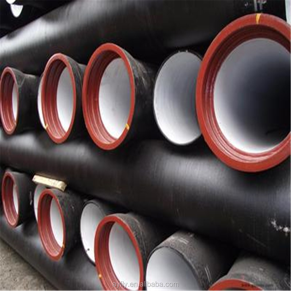 Cement lined 6m to 12m length of 8 inch ductile iron pipe
