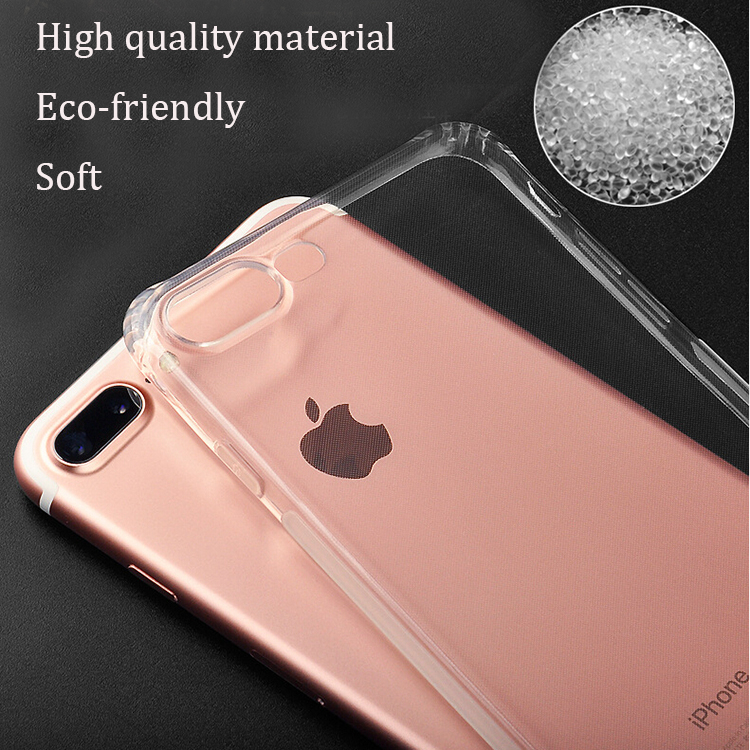 apple iphone 7 plus clear case shockproof covers