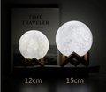 3D Printed Moon Lamp with Stand