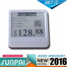 Dynamic digital display solutions SUNPAI 433MHz supermarket electronic price tag