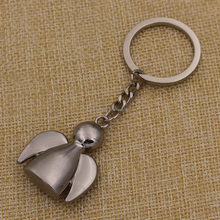 2014 Promotion metal angel keychain for gifts