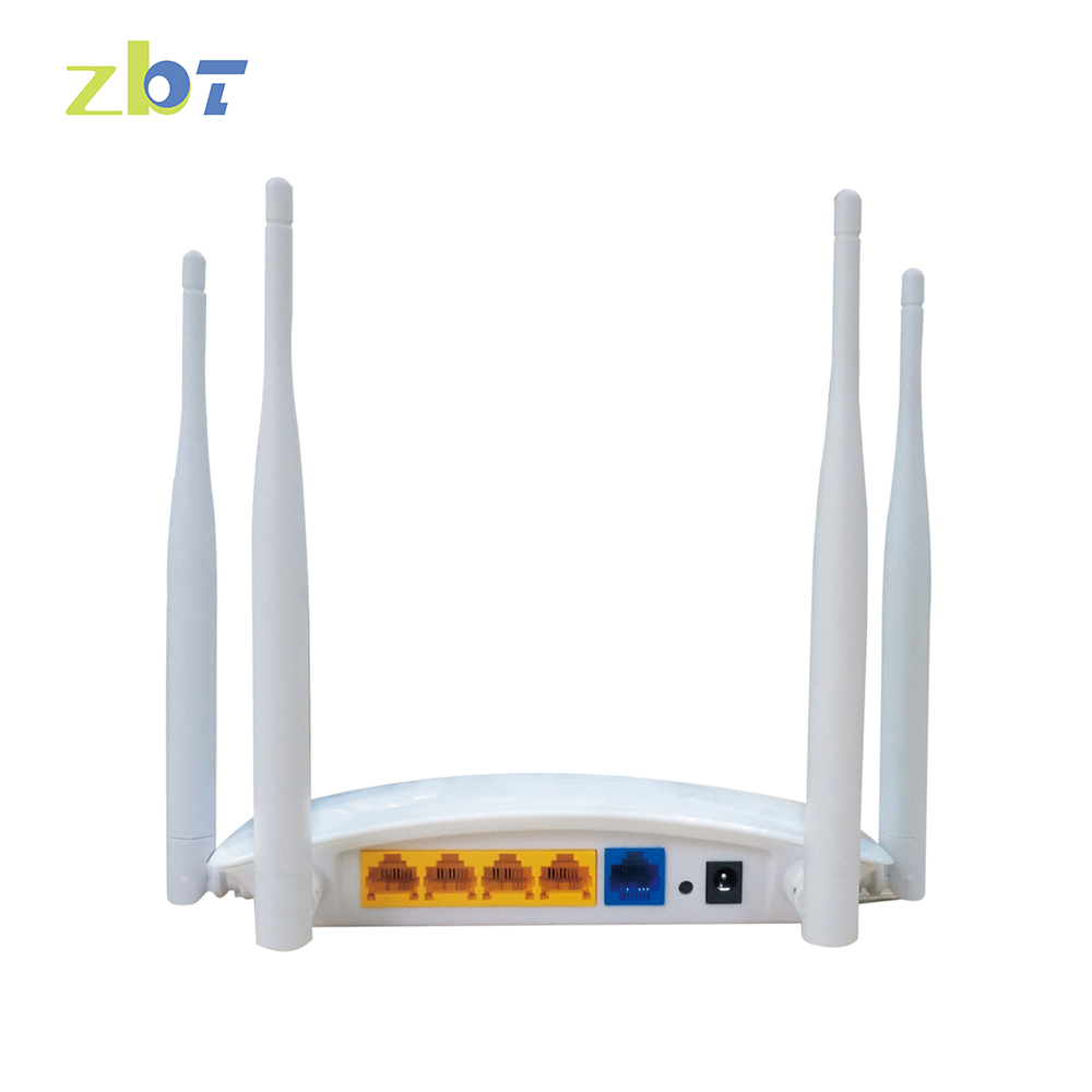 Omni directoinal 300mbps plastic case 4 internal antenna wireless router