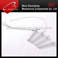 stainless steel quick release lock pins with rope wire