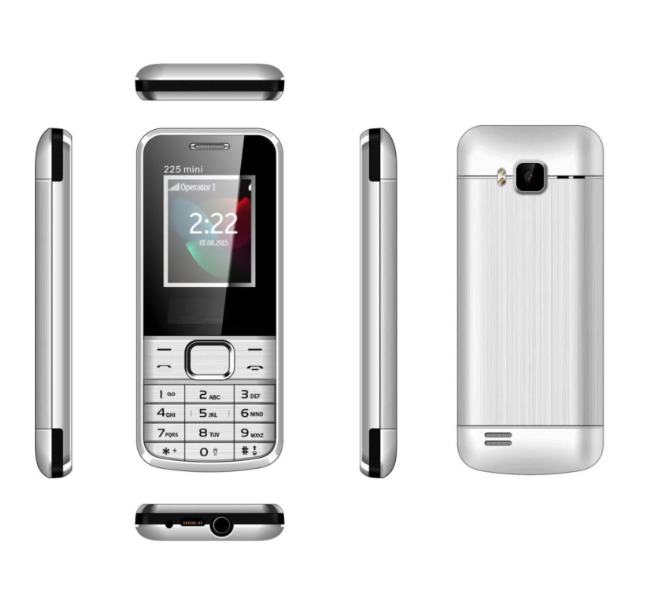 Wholesale Mobile Phone 2.4inch Spreadtrum6531DA 32MB+32MB BP-4L Battery Customized Feature Phone 225