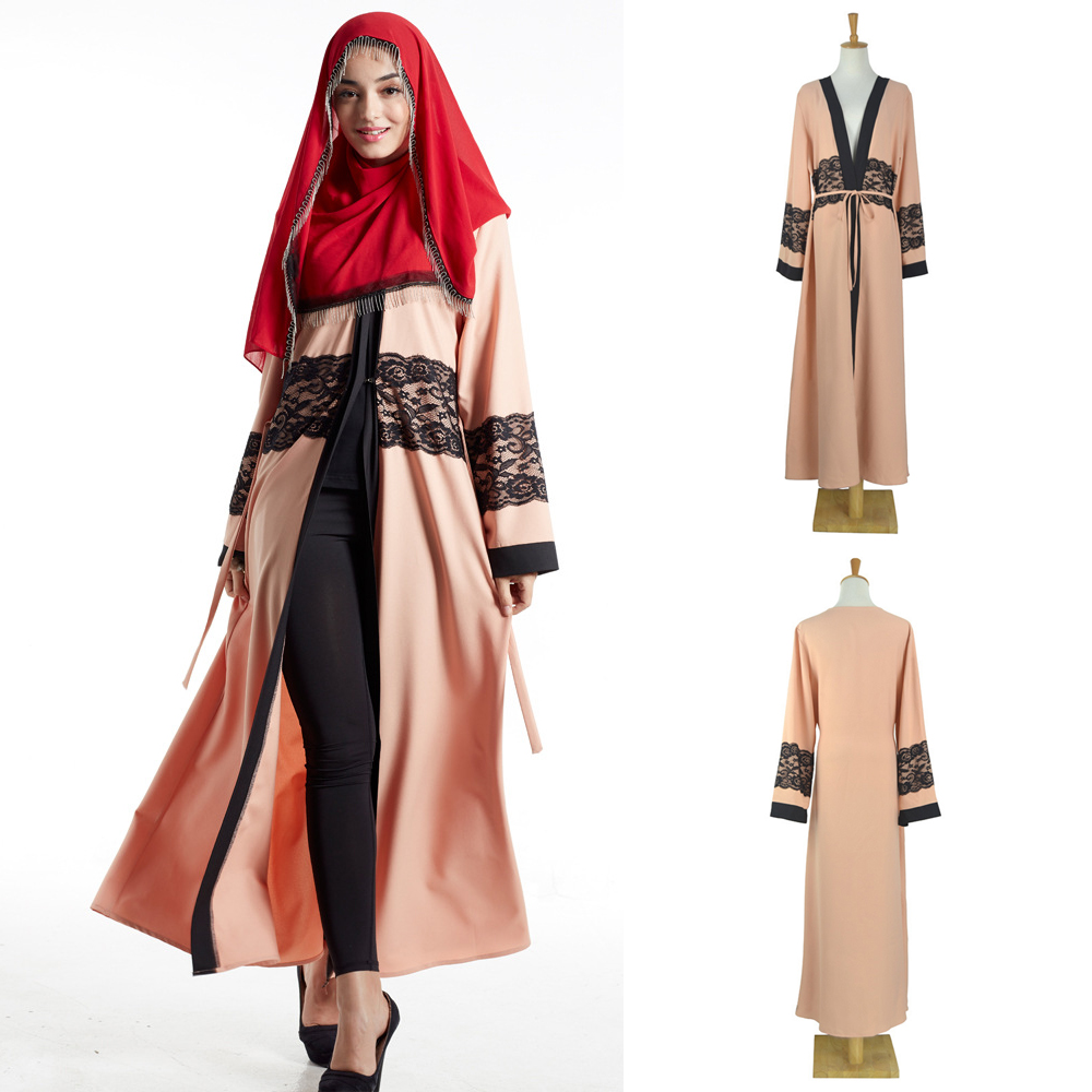 in stock Islamic clothing wholesale dubai kaftan long sleeve abaya dubai islamic abaya