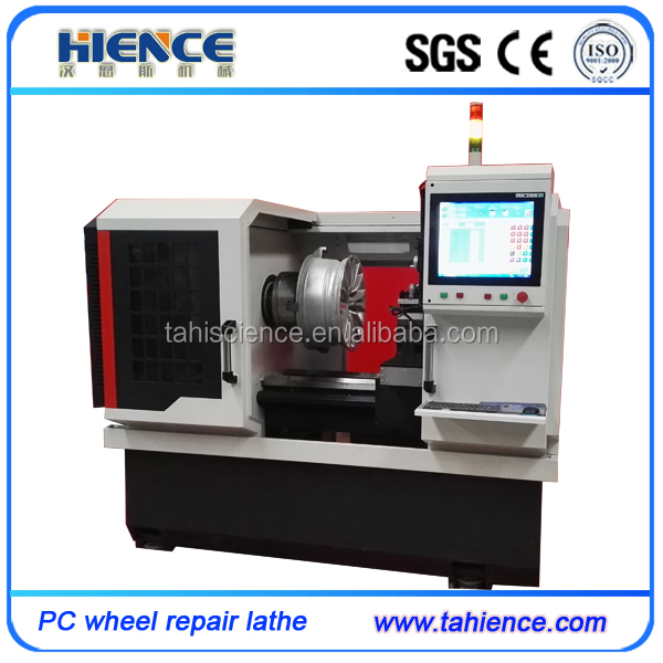 Automatic alloy wheel repair machine tools AWR28H-PC