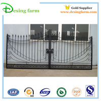 12ft Cheap powder coated wrought iron gates for sale
