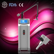 Safe and no effect co2 fractional laser pigment removal skin nurse machine