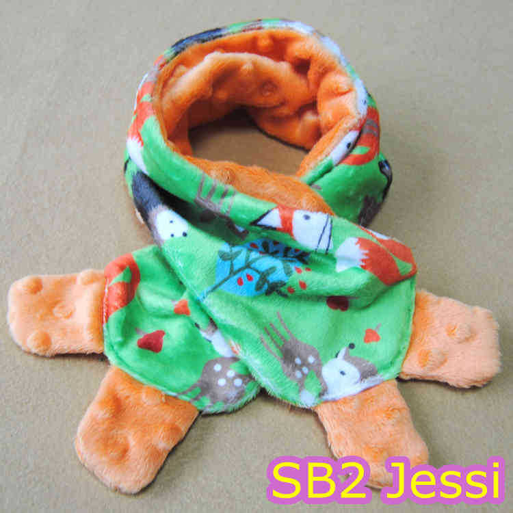 New Arrival Minky Boy Cute Scarf for Christmas.